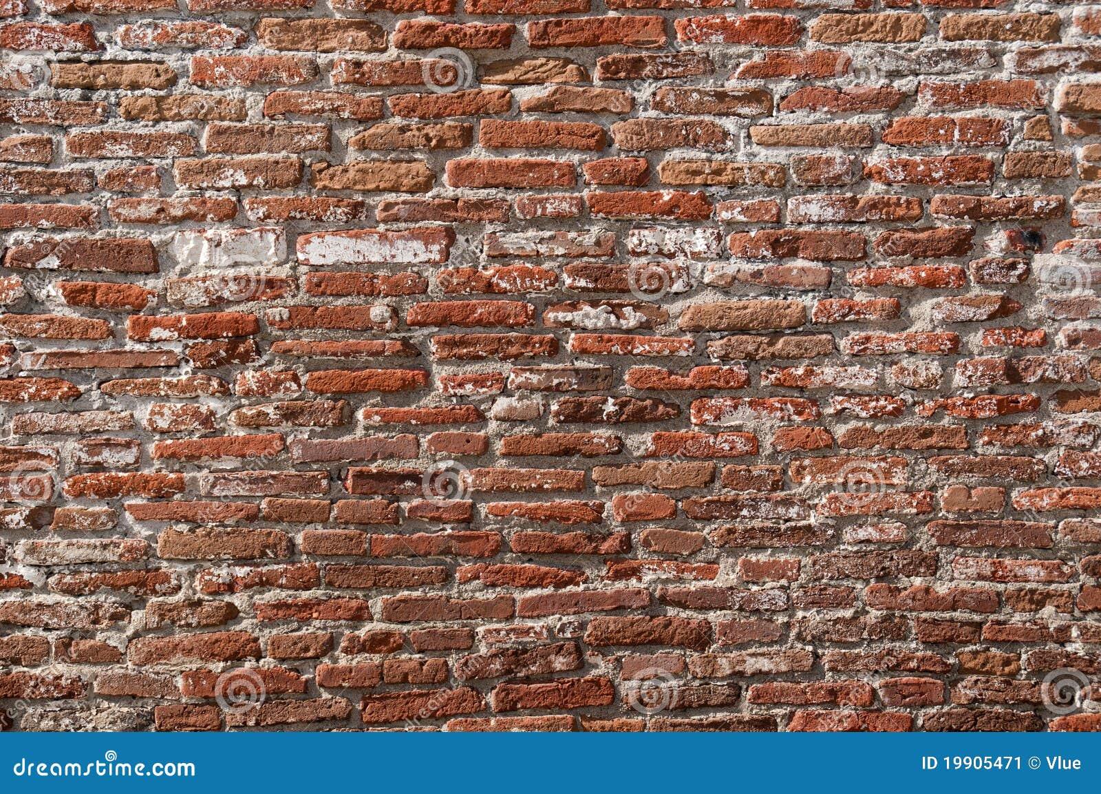 Old long narrow bricks