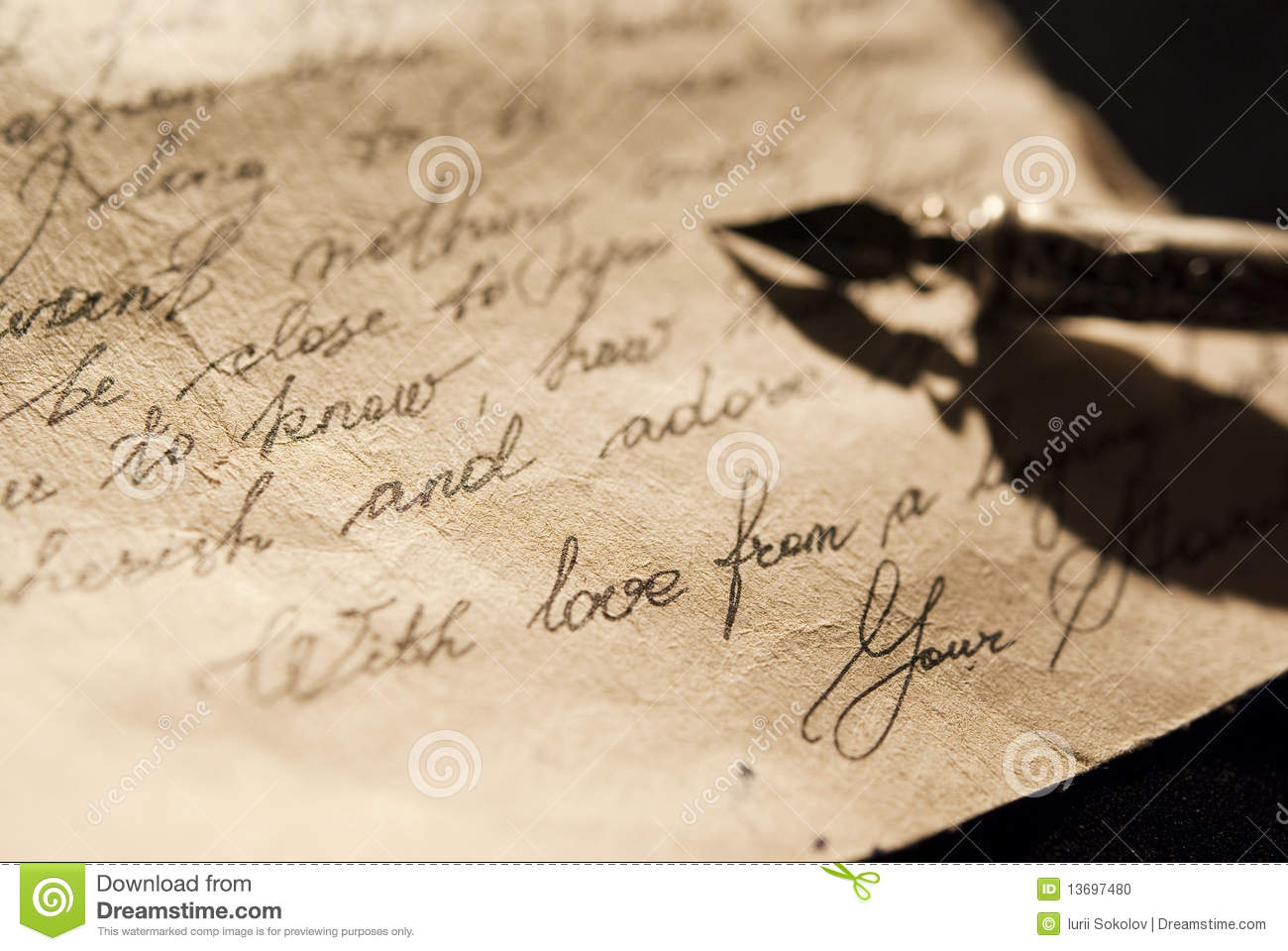 Love Letter | Old Love Letter Stock Photo Image Of Nostalgia Mail 13697480
