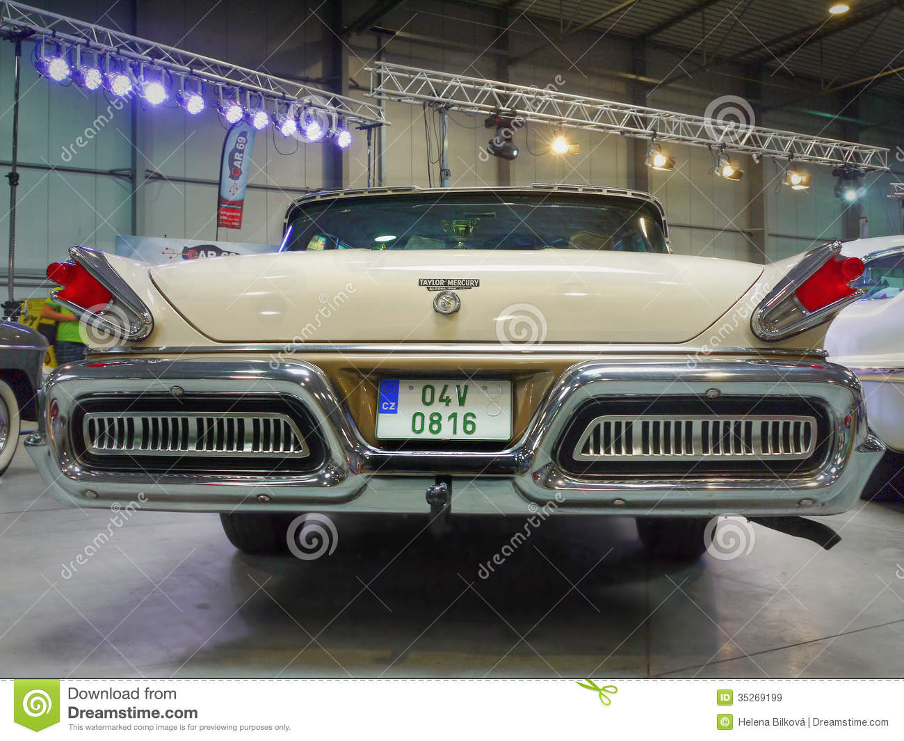 Old Luxury Americas Car Motor Show Editorial Stock Image Image 35269199