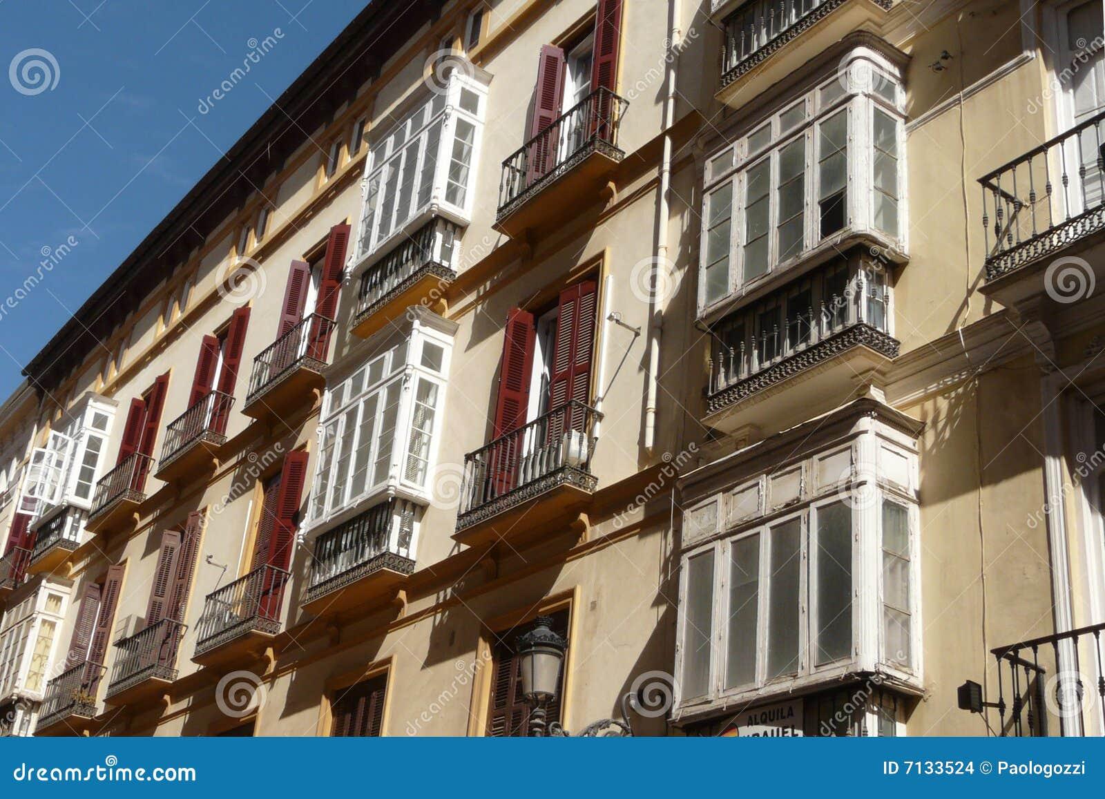 Old Malaga s buildings