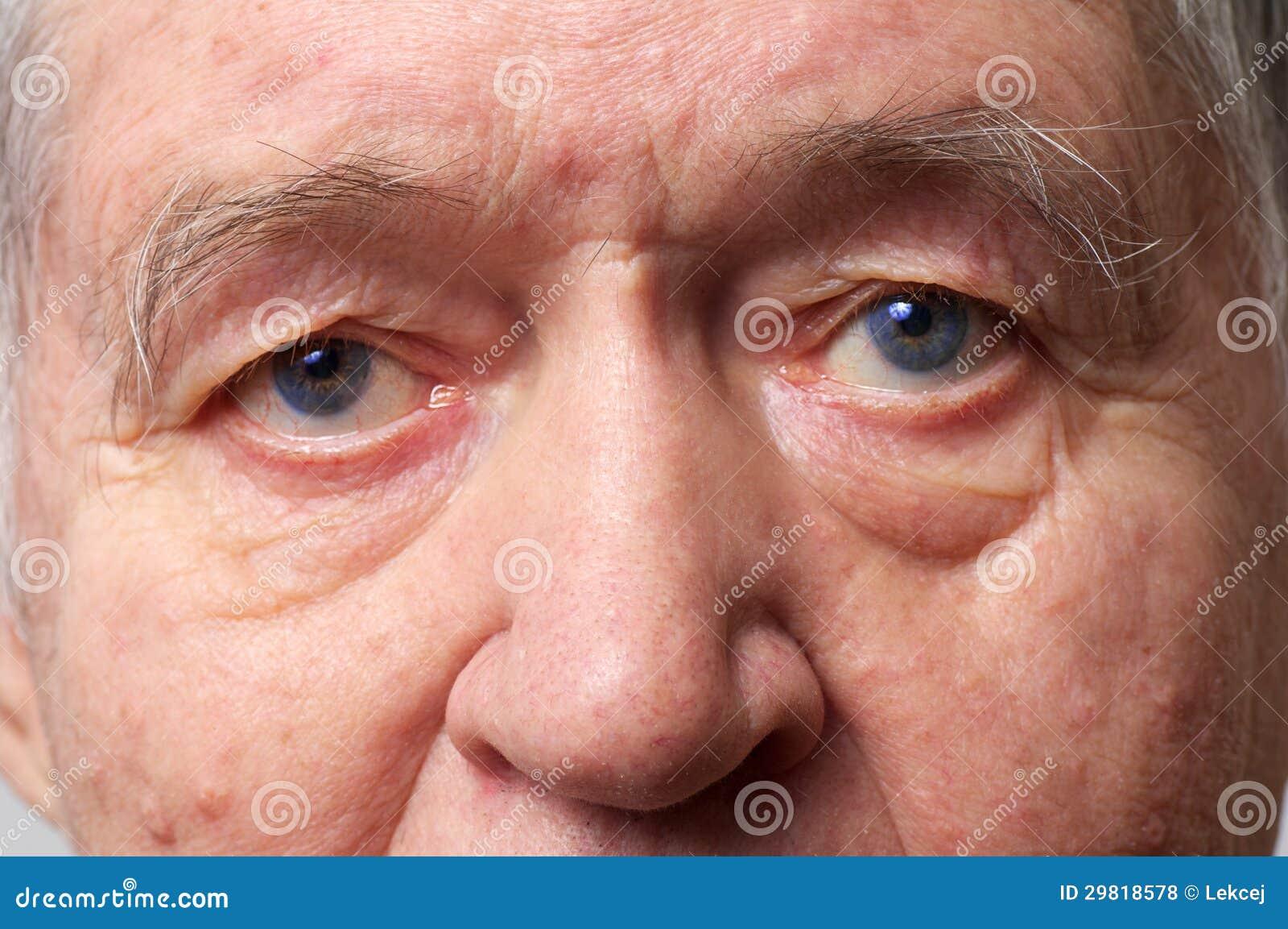 bejaarde In your face!