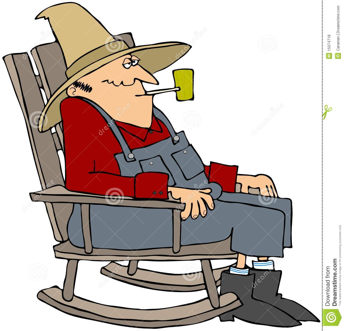 Old Man In A Rocking Chair Royalty Free Stock Photos ...