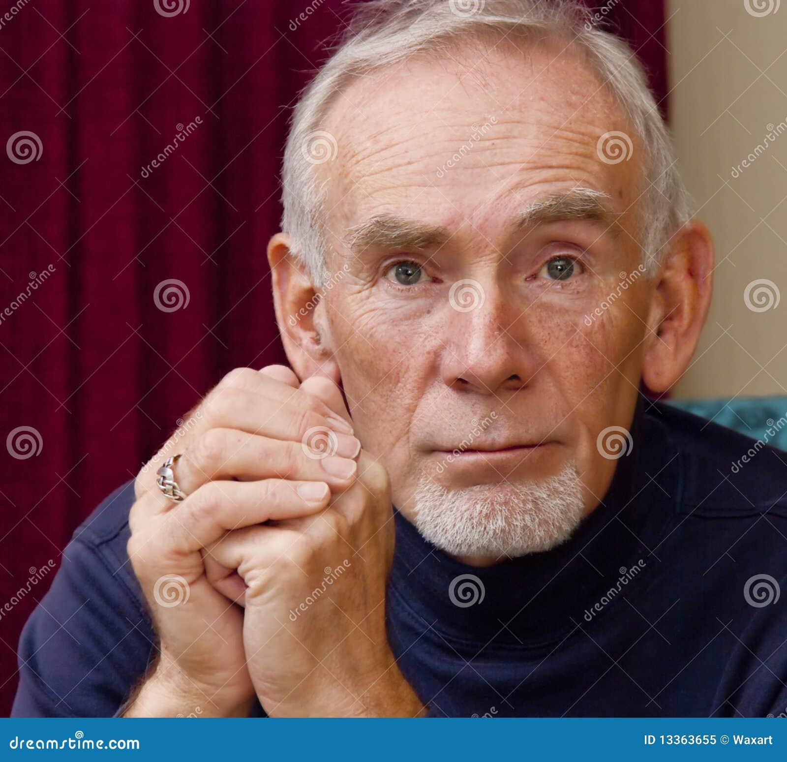 Straight older man