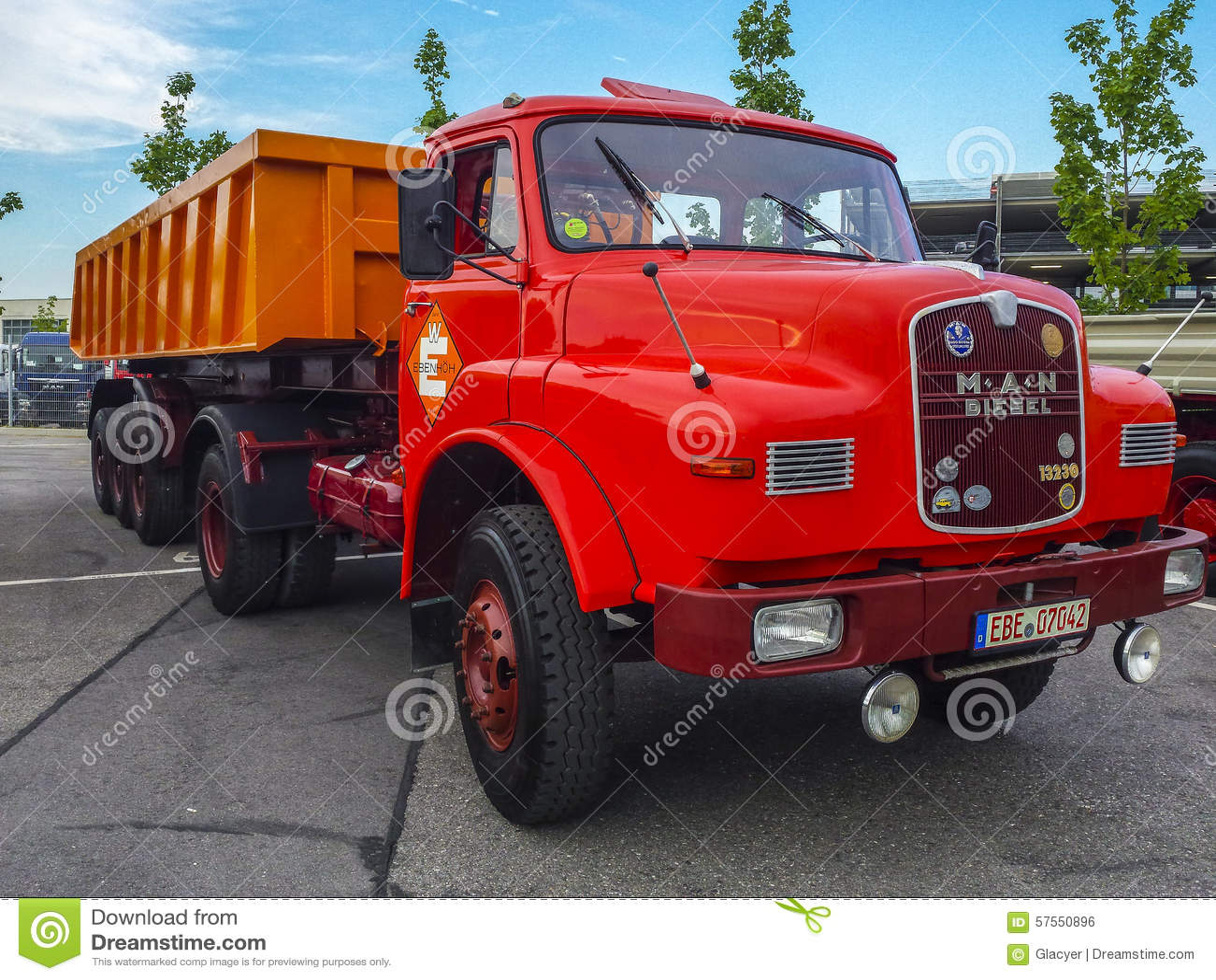 Old Man Truck Stock Photo 57550896 - Megapixl