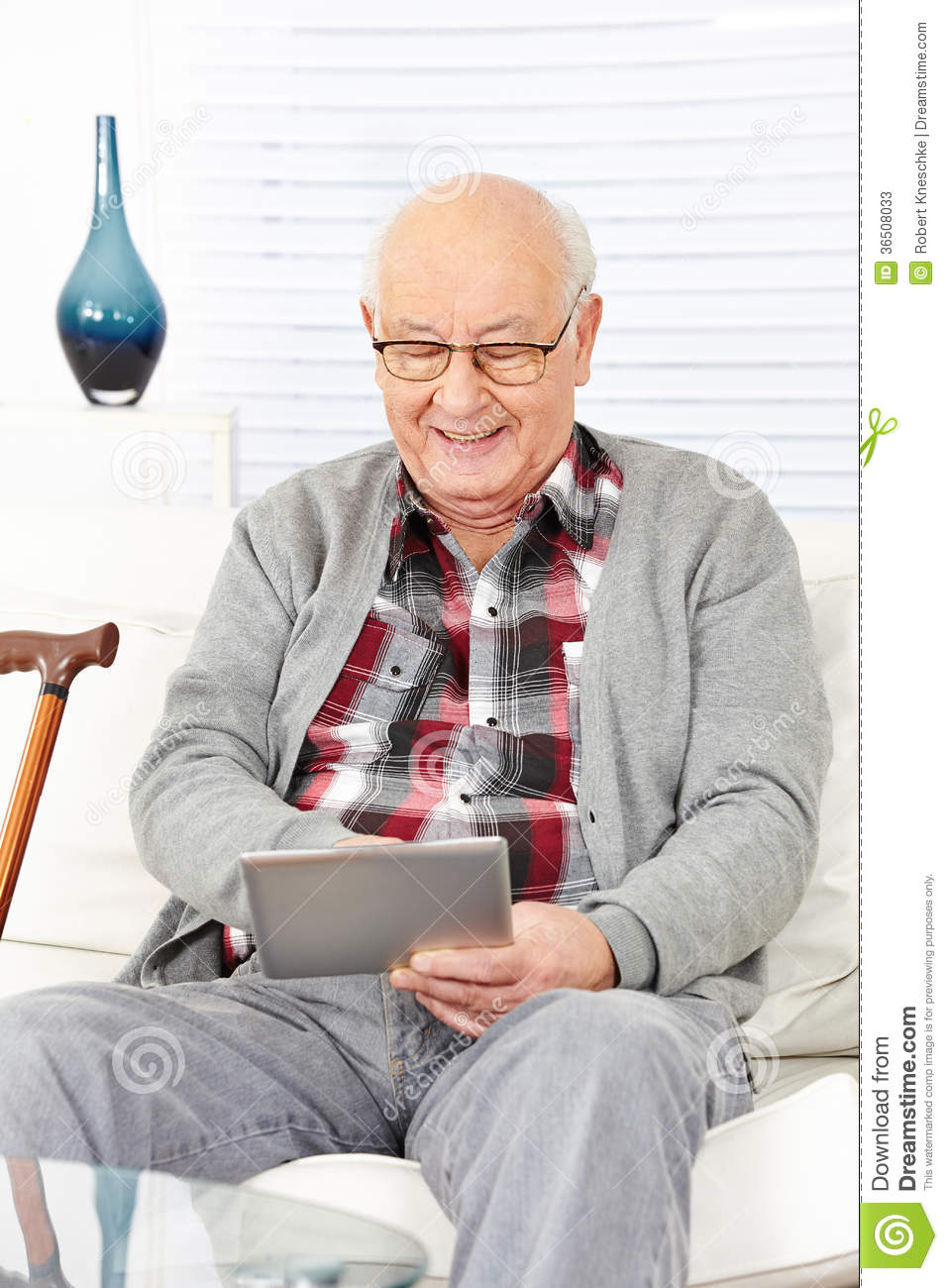 Old man internet