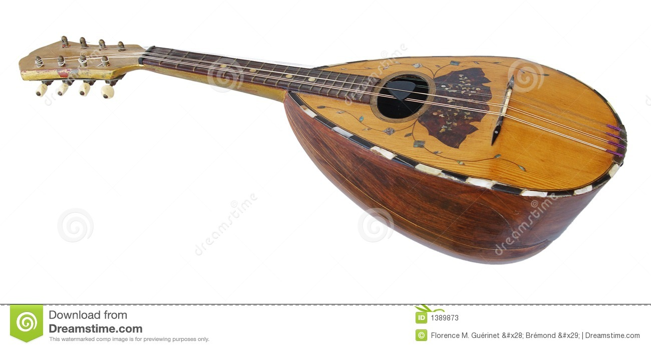 Old Mandolin Stock Photos - Image: 1389873