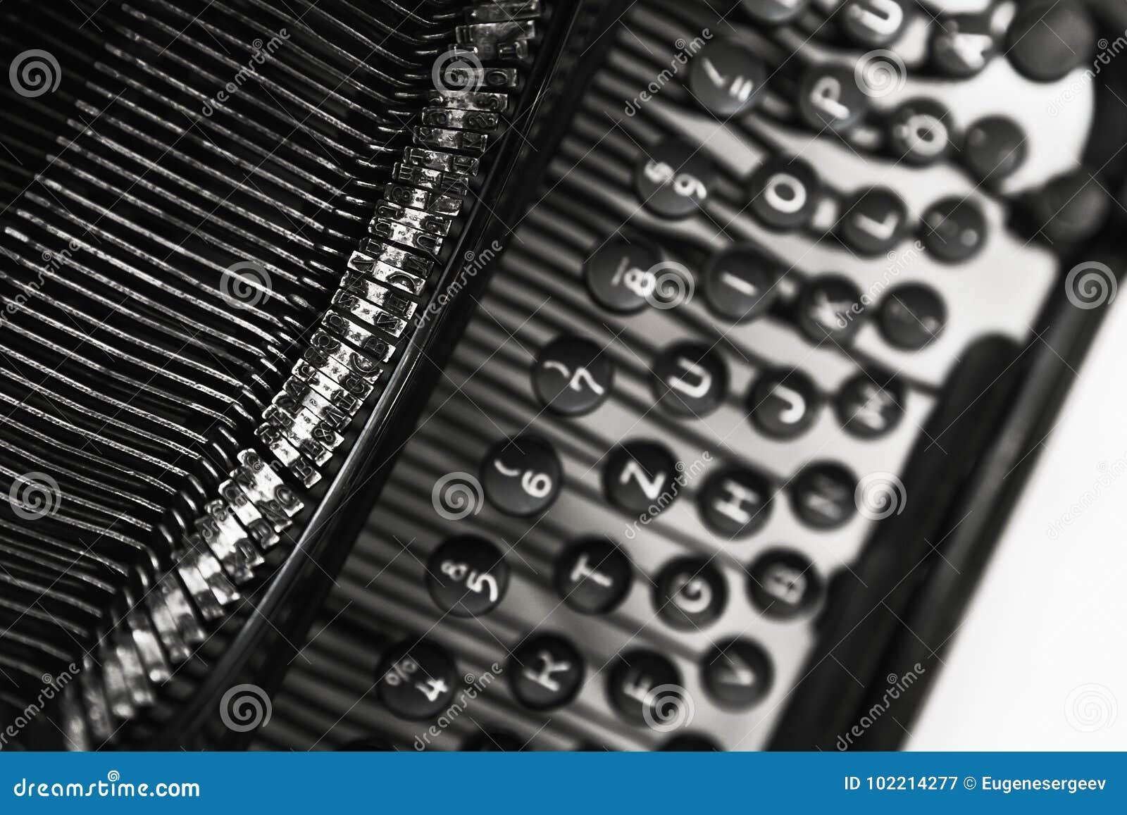 old manual typewriter machine close up stock image image of rh dreamstime com Close Up Lens for Photography Close Up Water Photography