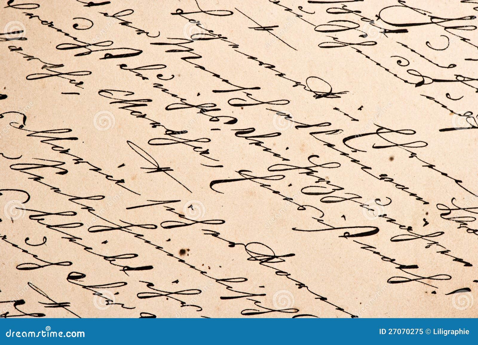 writing manuscript paper