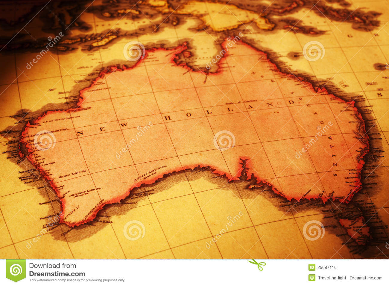 Download Map Of Australia.Old Map Of Australia Stock Photo Image Of Colour Cartography