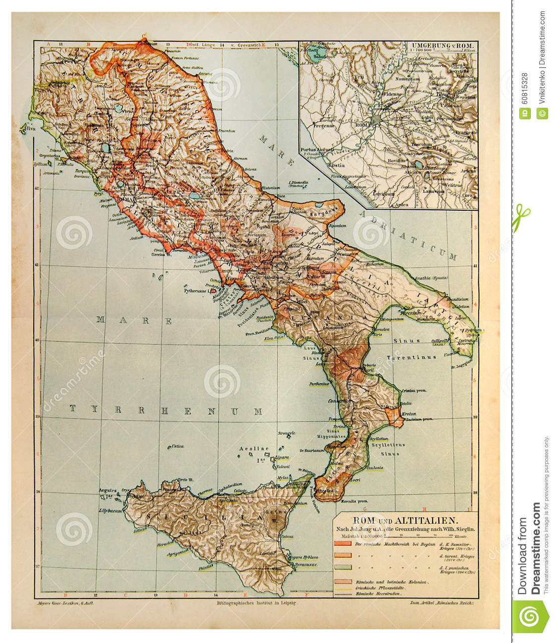 Old Map Of Rome And Old Italy Stock Photo - Image of global, italy Printable Map Of Rome on