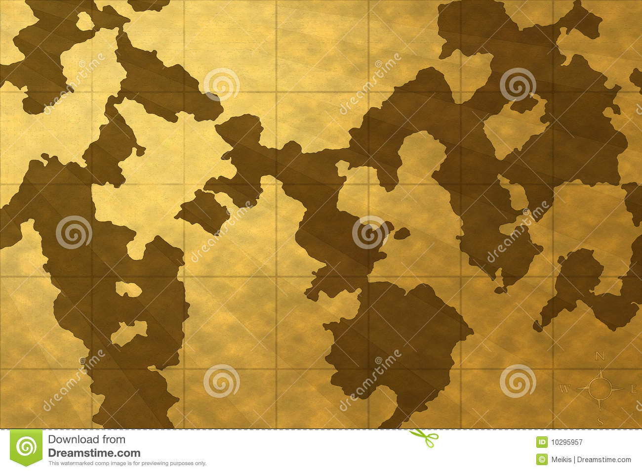 Old Map Wallpaper Stock Illustration Illustration Of Dried