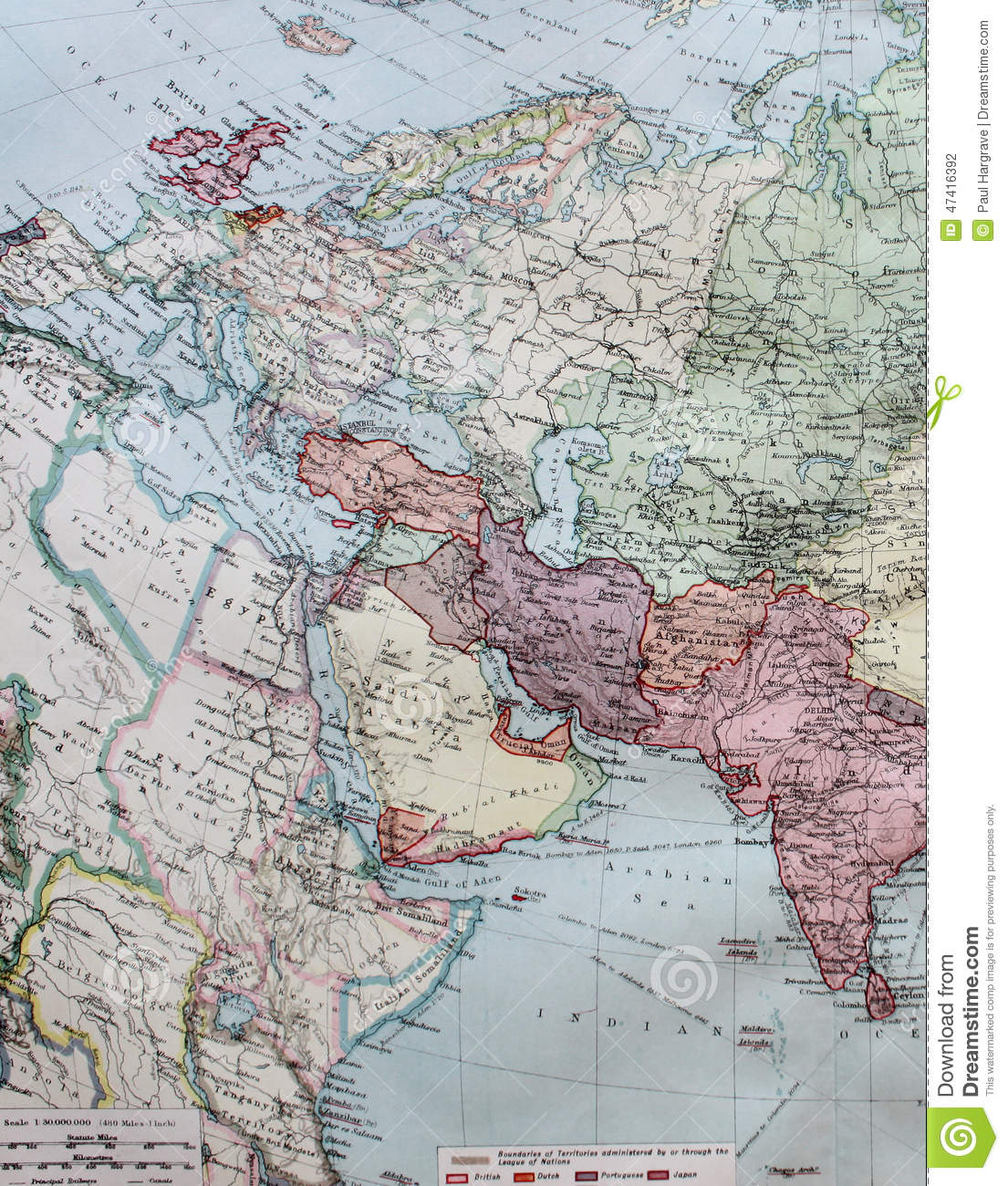 Picture of: Old 1945 Map Of Western Europe Including North Africa Stock Illustration Illustration Of Travel Study 47416392