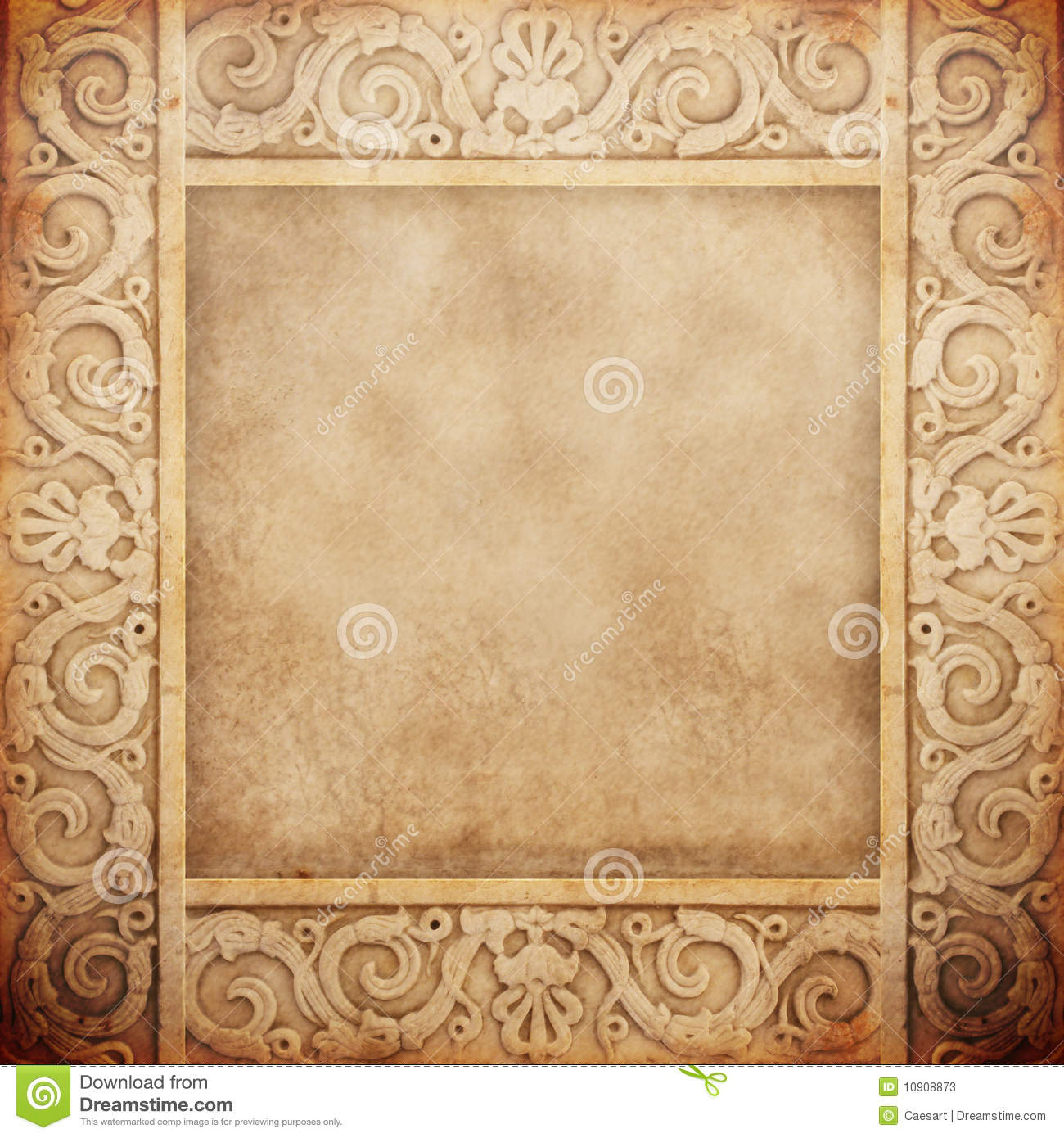 Old Marble Frame Stock Photos Image 10908873