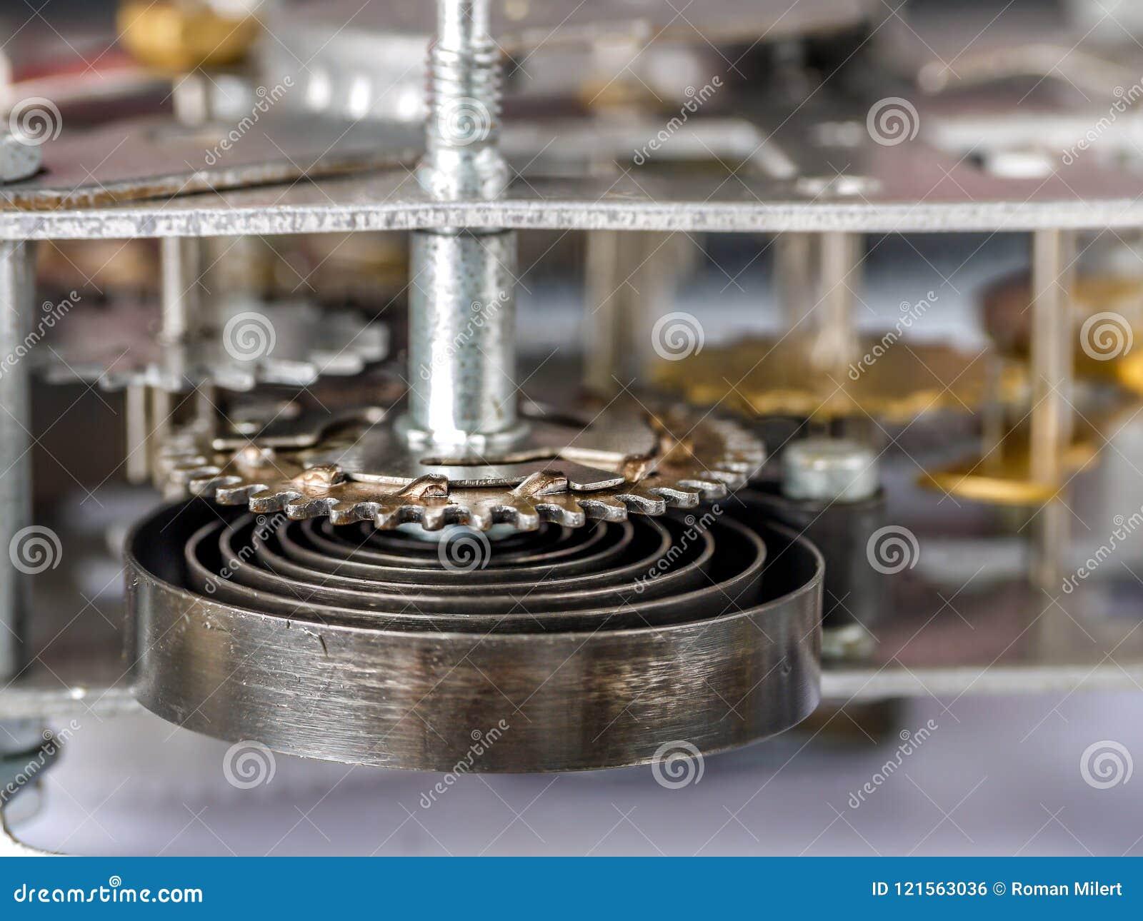 Old mechanical clockwork