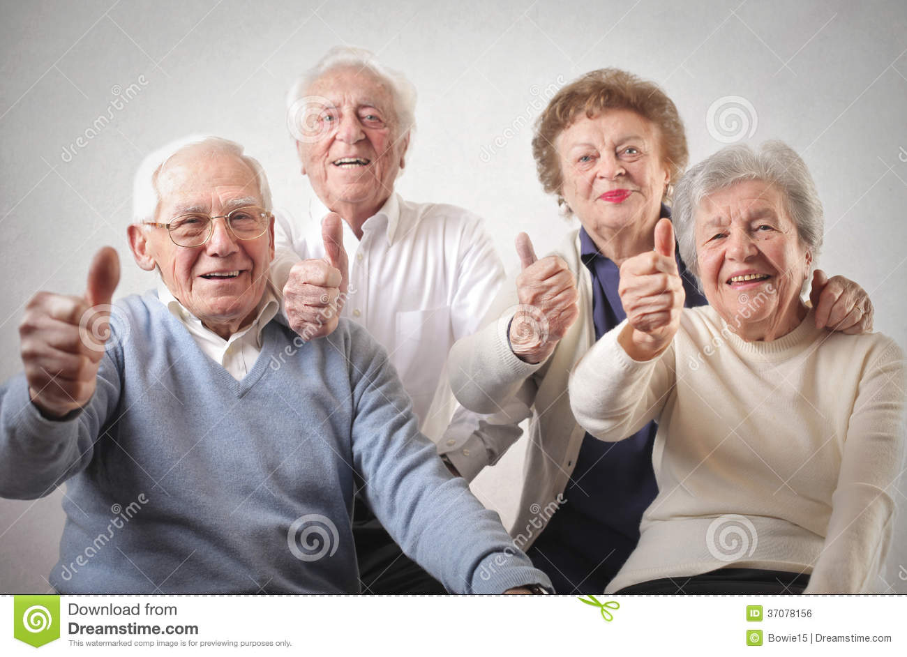 Old Men And Women Royalty Free Stock Image Image 37078156