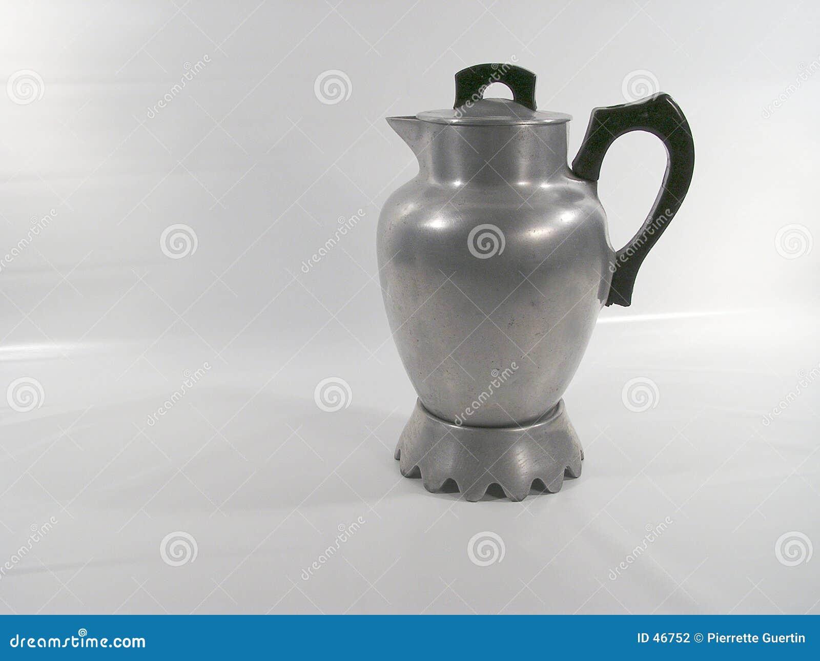 Old metal coffee maker