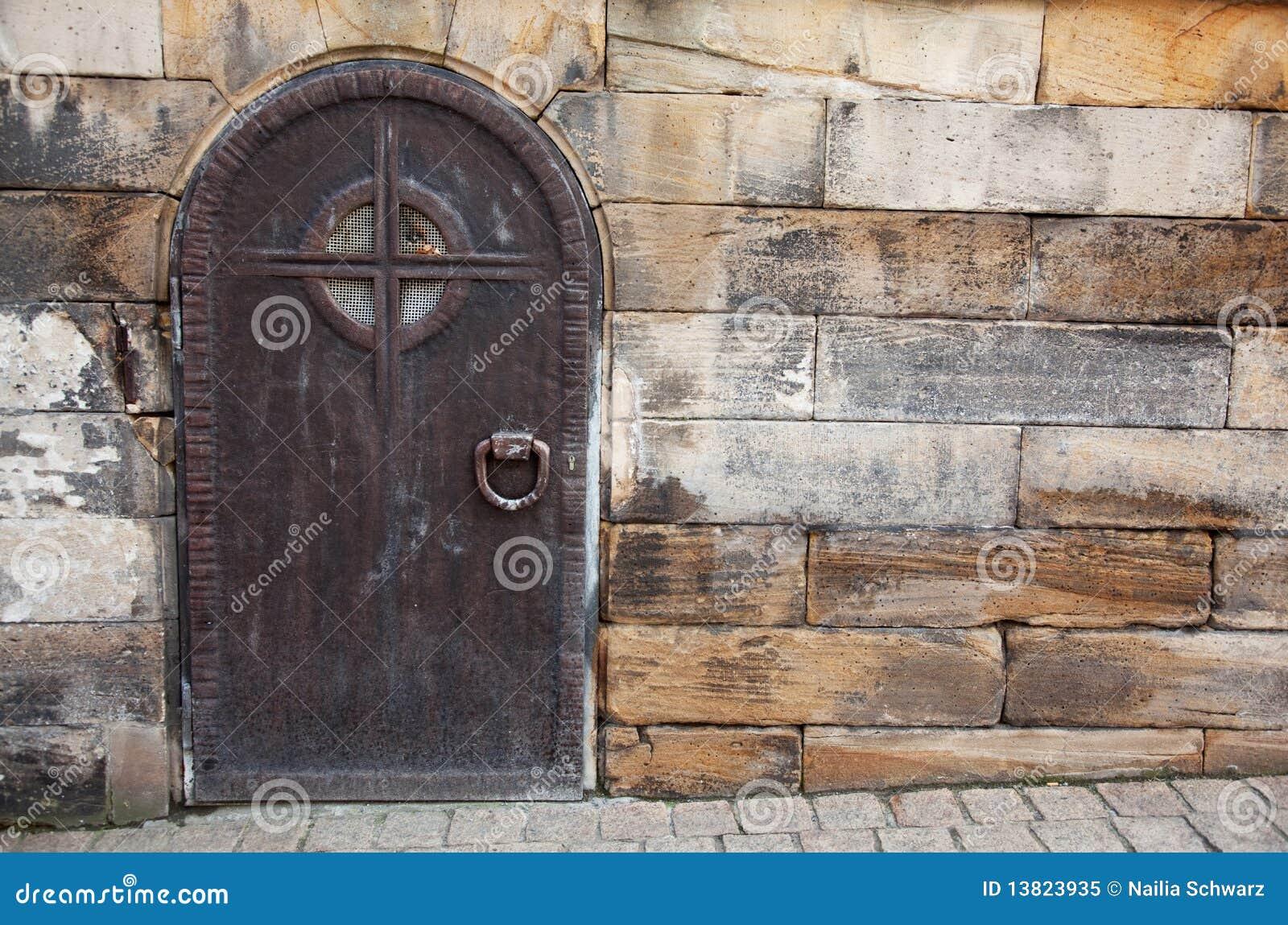Old Steel Door : Old metal door royalty free stock image cartoondealer