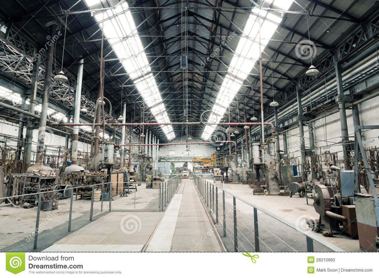 Old Metal Factory View Stock Photo Image Of Australia