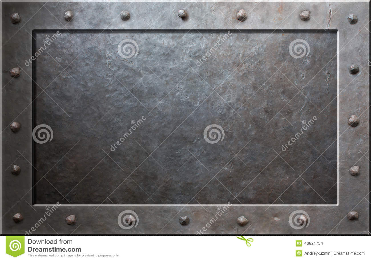 Old metal frame stock photo. Image of sheet, industry - 43821754