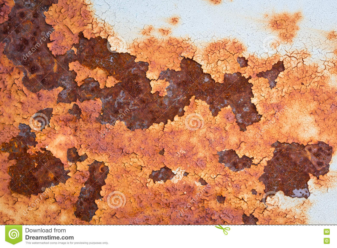 Old Metal Iron Rust Texture Suitable For Background
