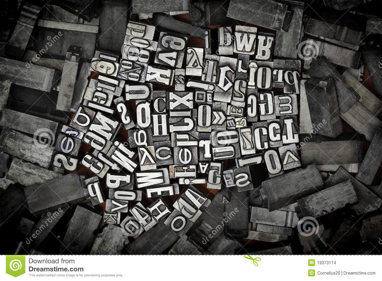 Old Metal Letters Amazing Old Metal Letters Stock Photoimage Of Antique Typeset  19373114 Decorating Design