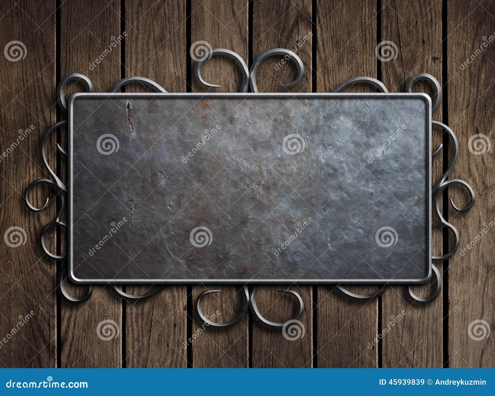 Old Metal Door : Old metal door royalty free stock image cartoondealer
