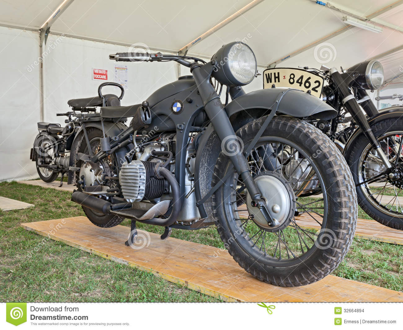 old military bmw r12 editorial stock image - image: 32664894