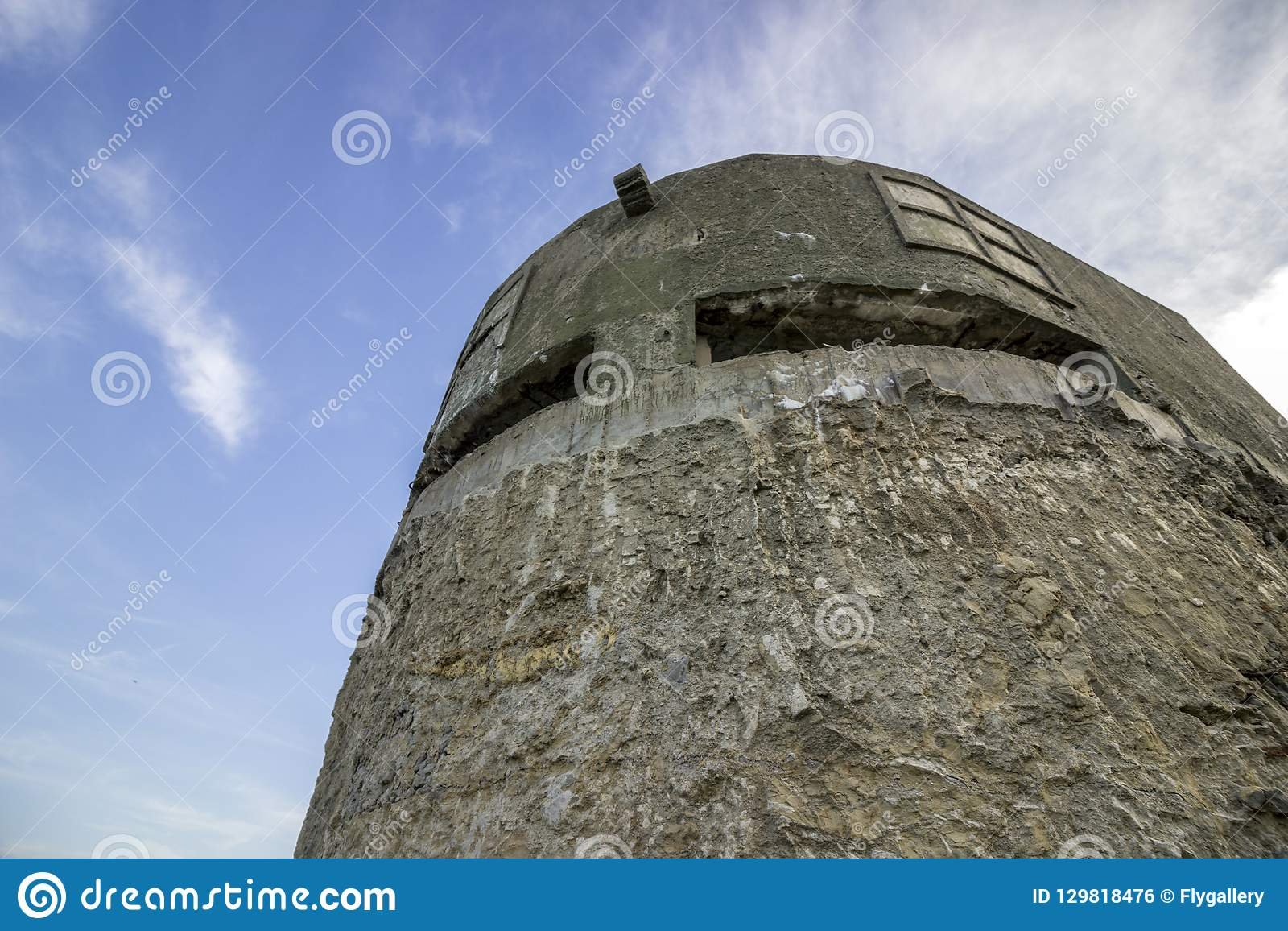 Old Military Bunker to protect against attacks