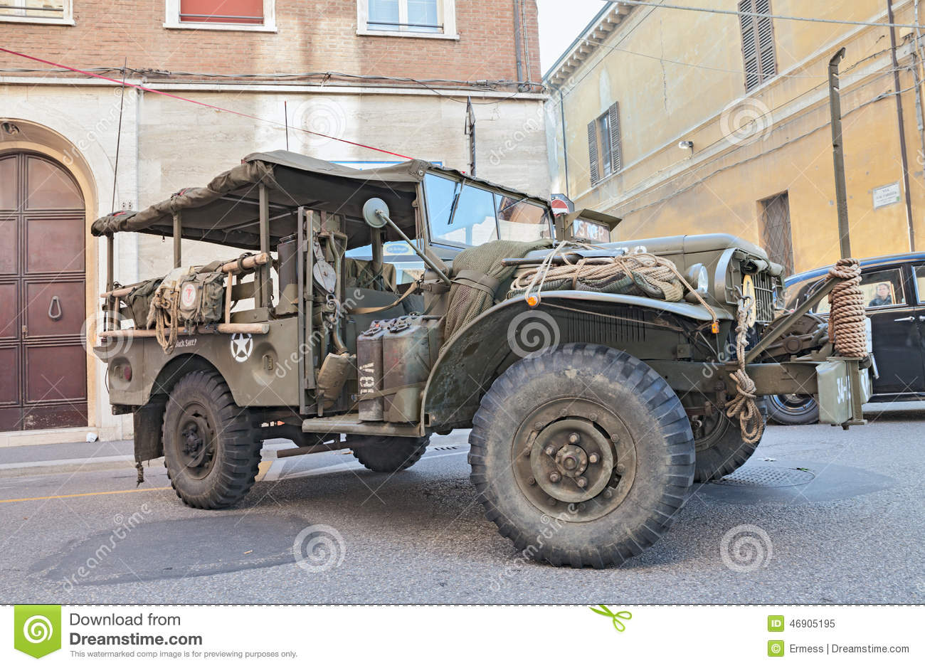Dodge trucks in wwii - Editorial Stock Photo