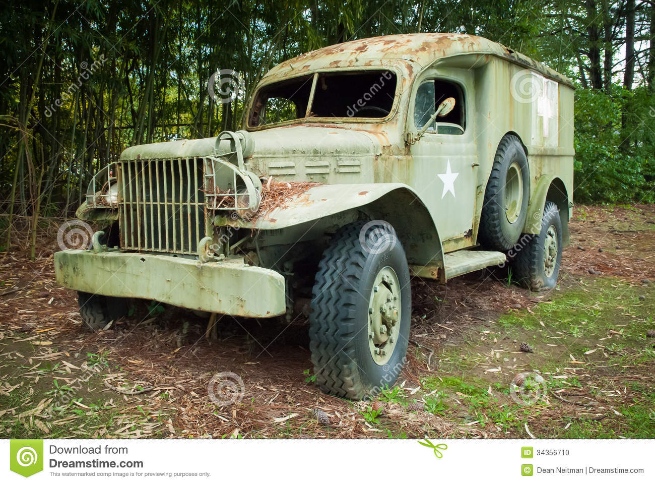 Old Military Medical Vehicle Editorial Image - Image of grunge ...