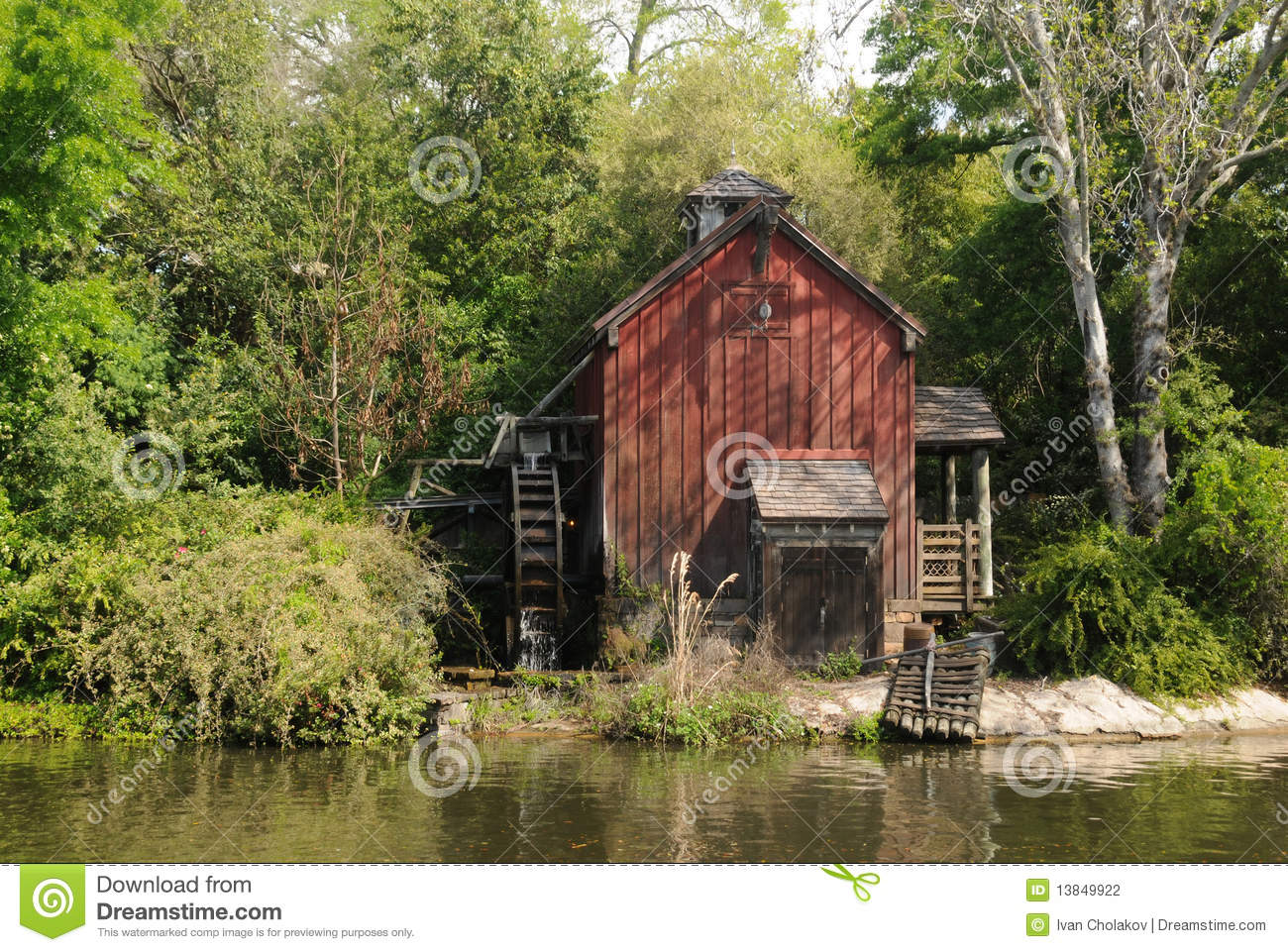 Old Mill Stock Photography