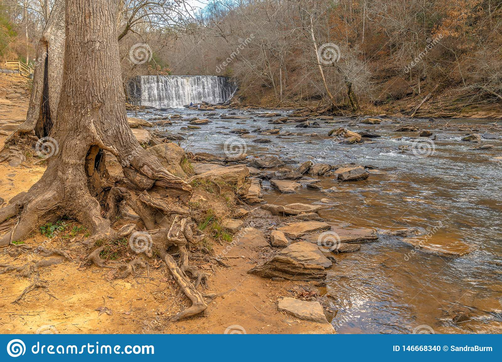 Old Mill Park, Roswell, Georgia USA