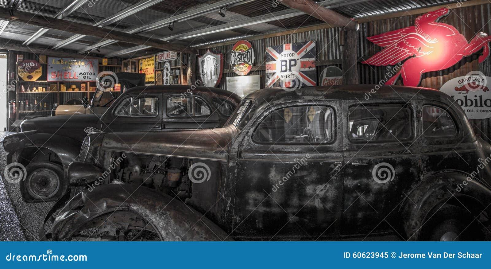 Old Mining Town Car Repair Shop Editorial Image - Image of boat ...