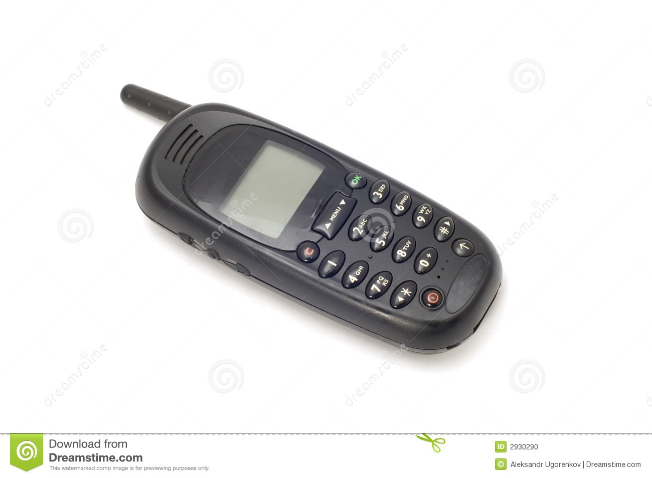 Old Mobile Phone Stock Photo - Image: 2930290