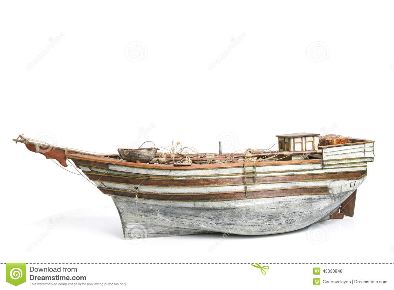 Old Model Boat Stock Photo - Image: 43030848
