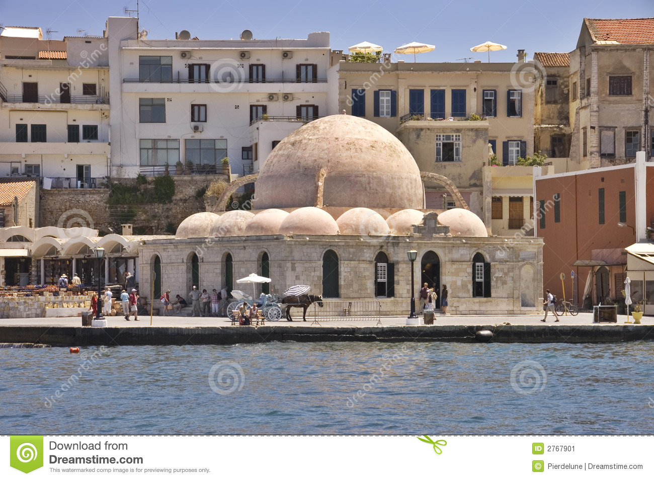 Download Old mosque stock image. Image of tower, travel, seascape - 2767901