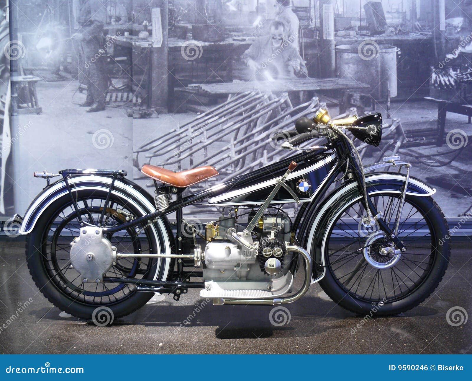 Old Motor Bike Editorial Photo Image Of Munich Black