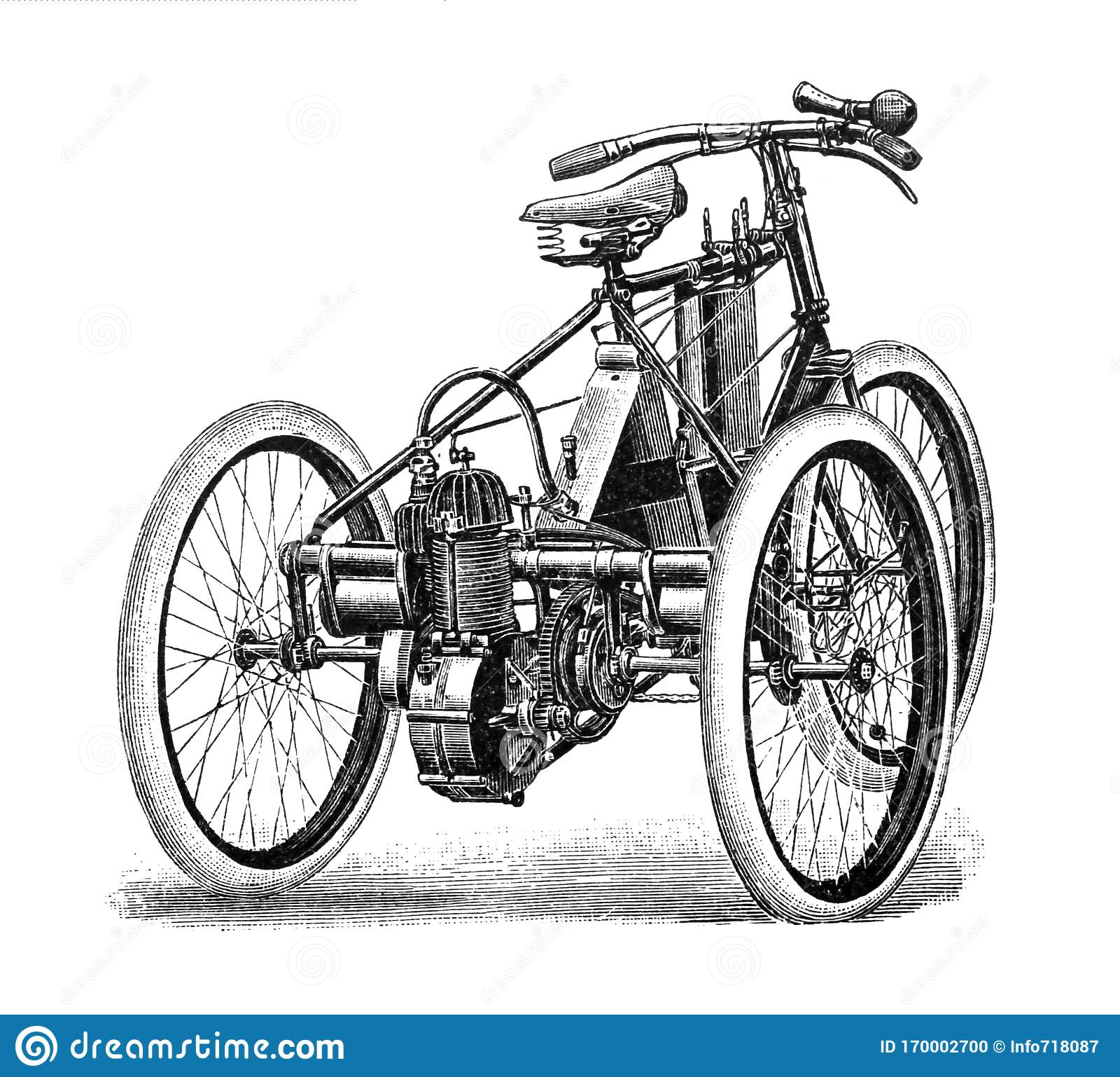 Old Tricycle Stock Illustrations 539 Old Tricycle Stock Illustrations Vectors Clipart Dreamstime