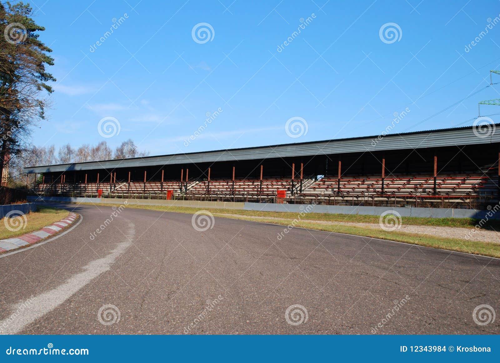 Old motor racing track