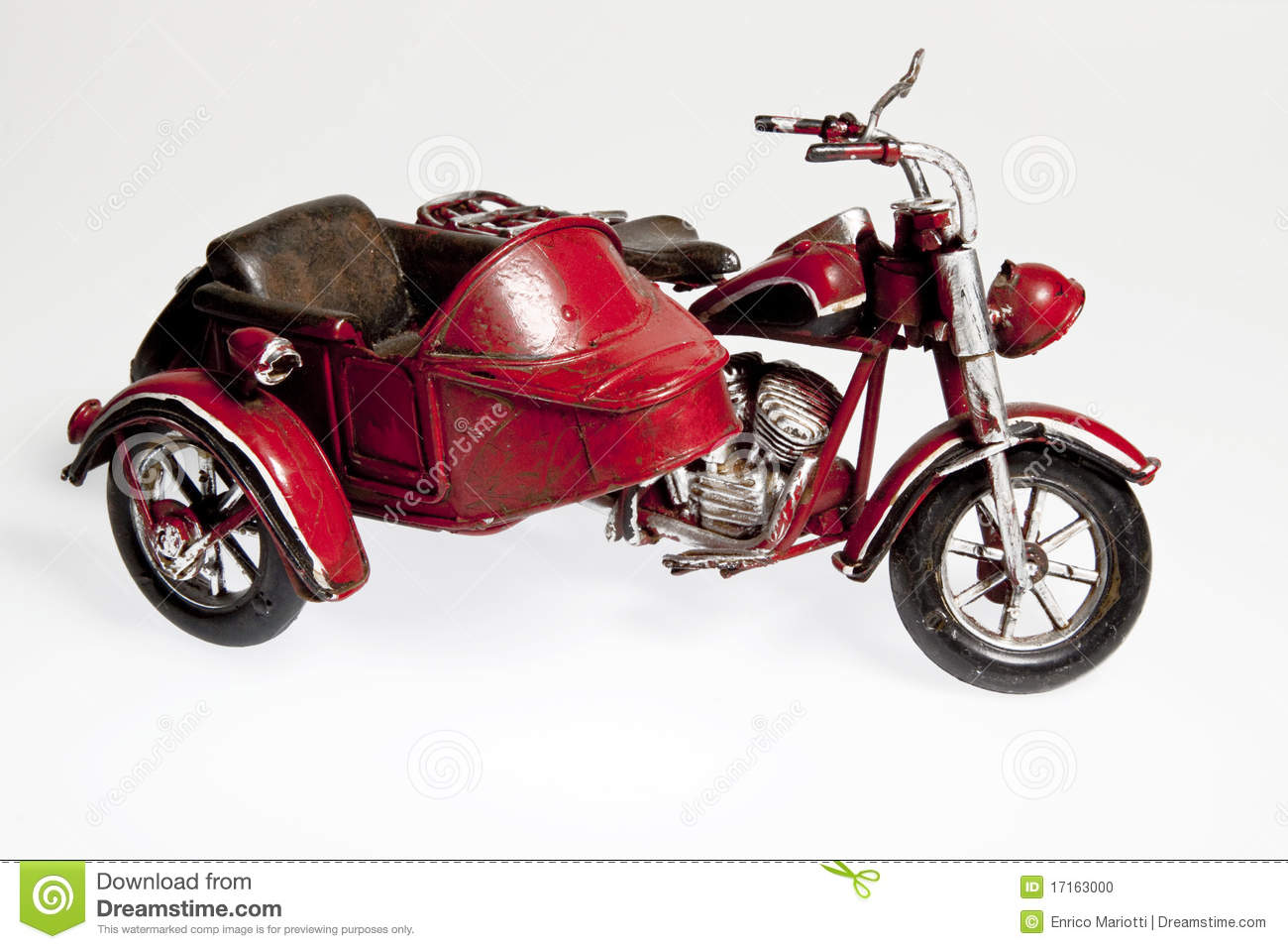 old motorcycle with sidecar stock photo image 17163000. Black Bedroom Furniture Sets. Home Design Ideas