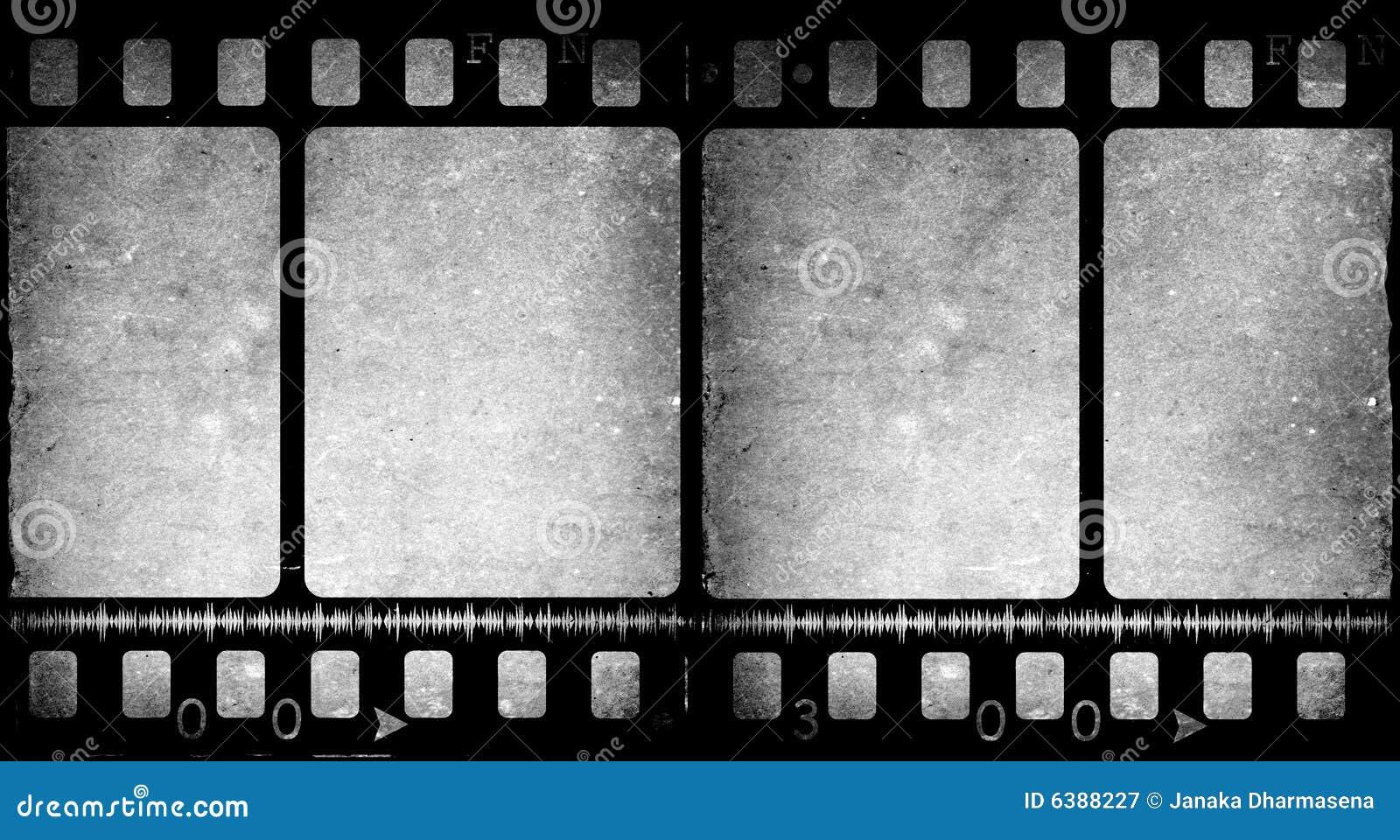 Old Movie Film Stock Illustration Illustration Of Negative 6388227