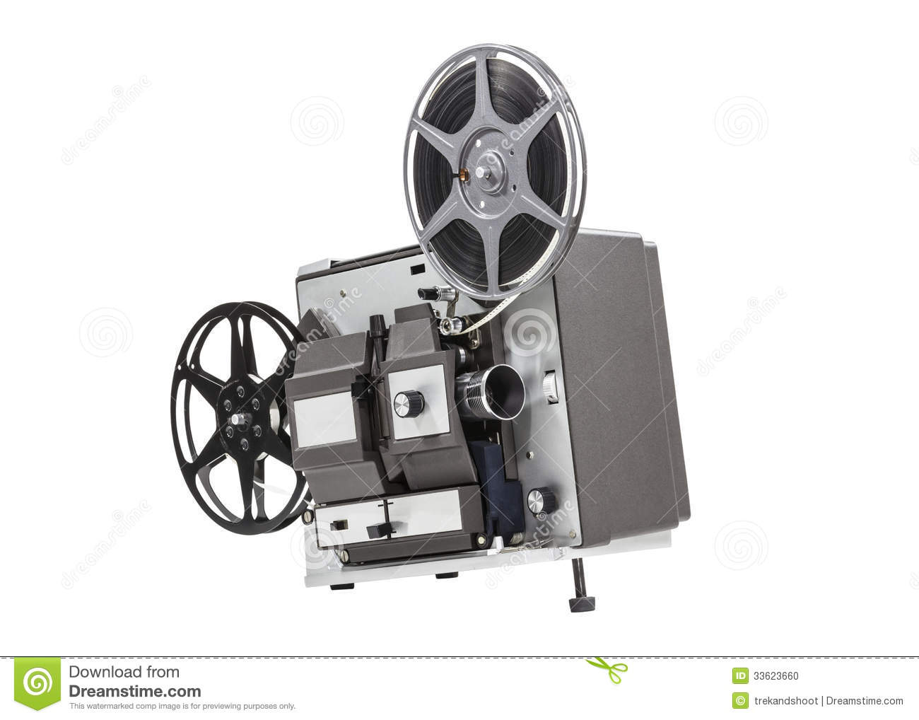 projector film movie isolated clipping