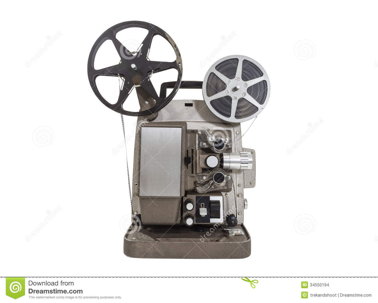 Old Movie Projector Stock Images - Image: 34550194