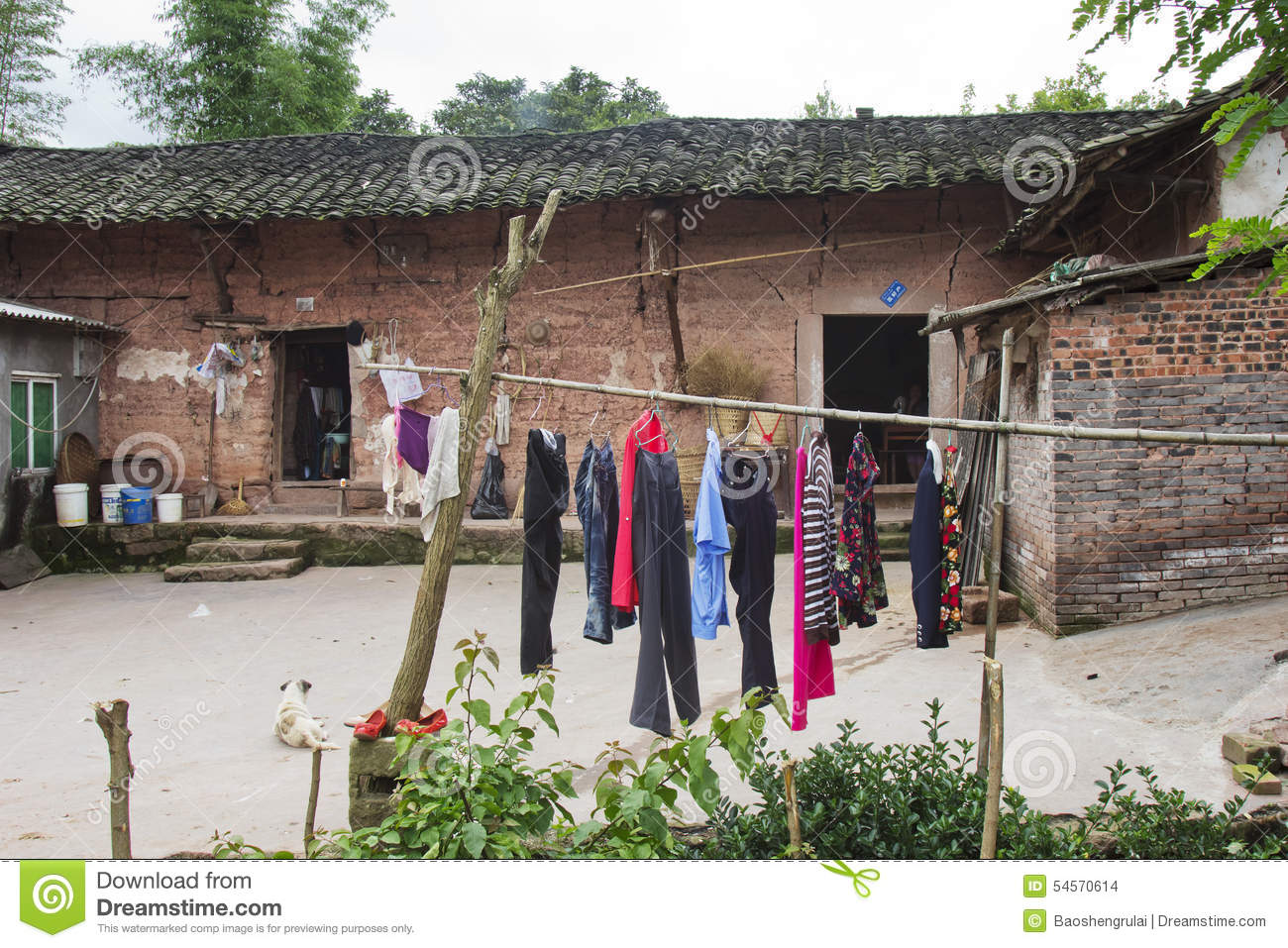 Old Mud House Editorial Stock Image Image Of Traditional