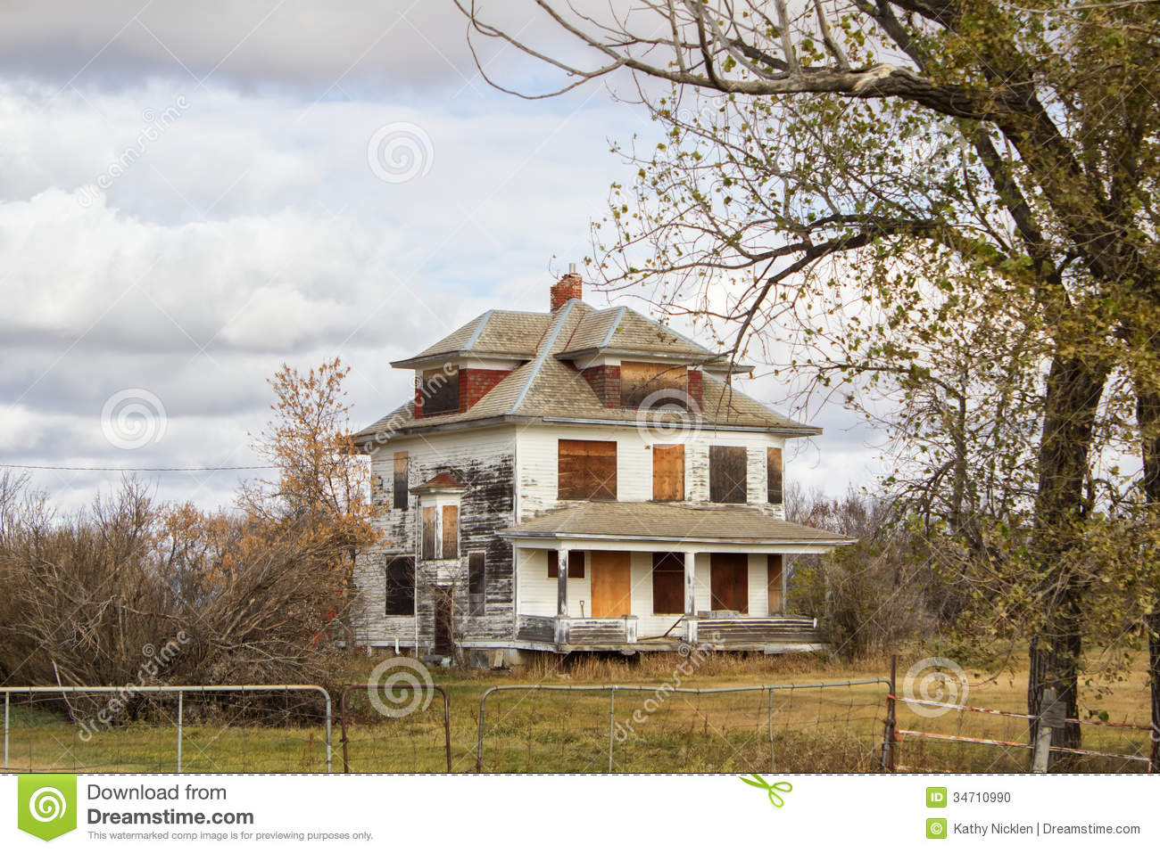 An Old Multi Roofed White House Stock Photo Image Of
