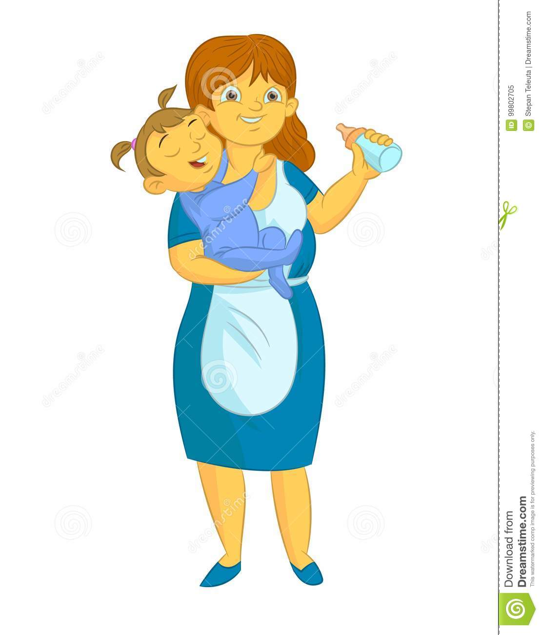 nanny stock illustrations 1 262 nanny stock illustrations vectors rh dreamstime com babysitter clip art babysitting clip art images