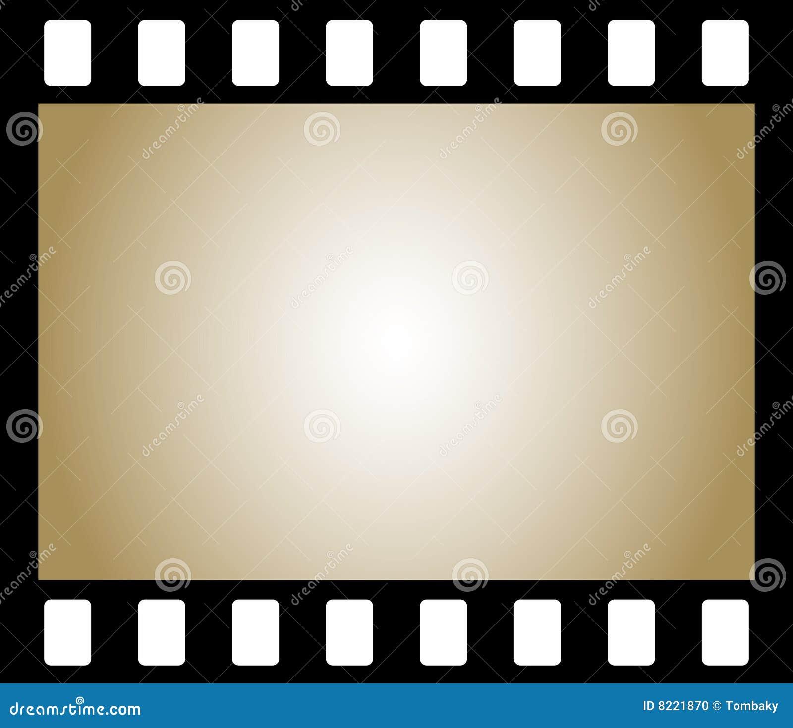 Old Negative Photo Film Stock Photo - Image: 8221870