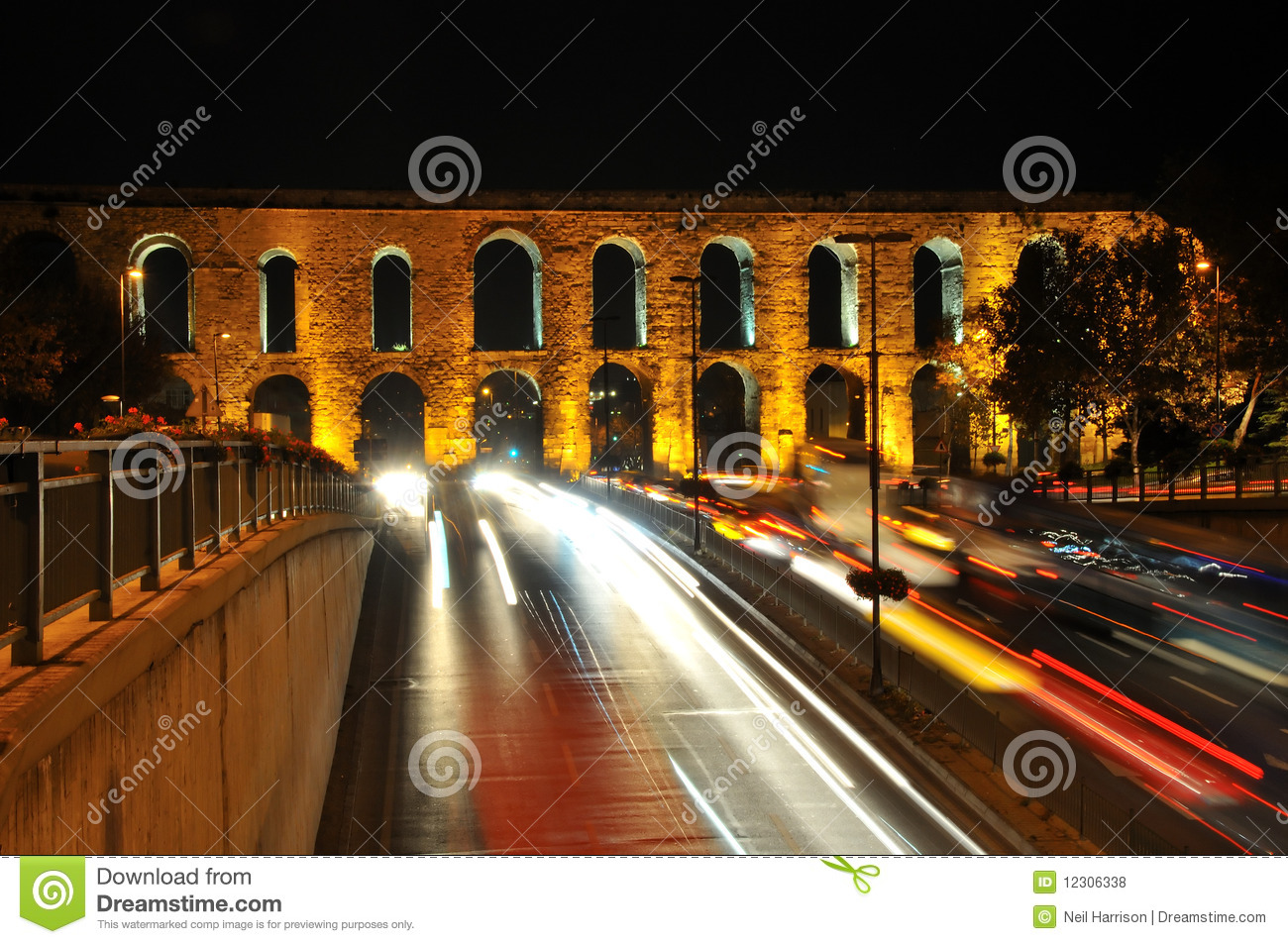 Download Old and new stock photo. Image of aqueduct, modern, bridge - 12306338