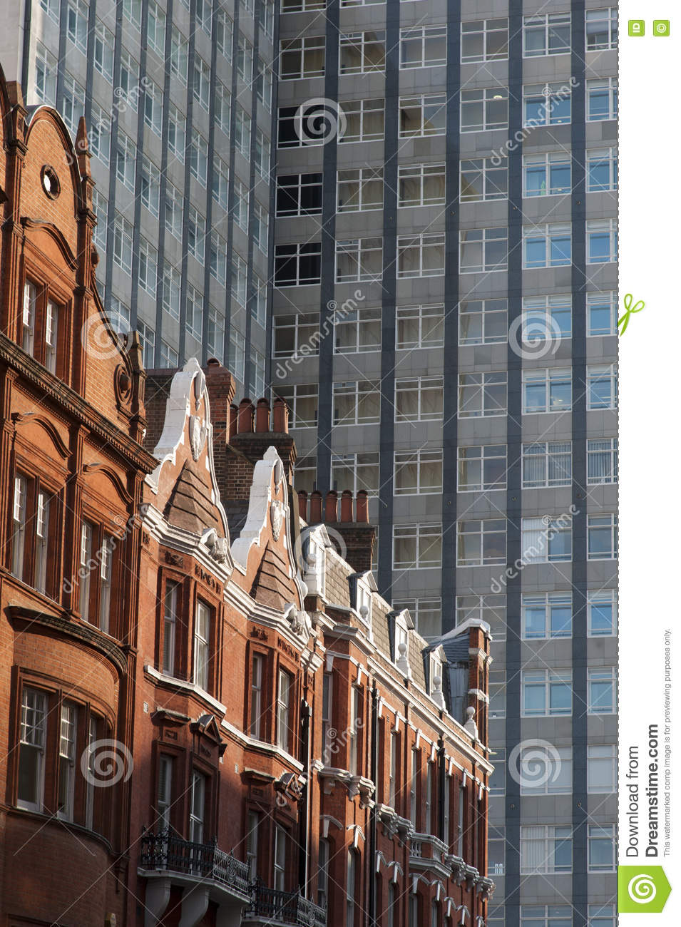 Old And New Buildings In London Stock Photo Image 71071894