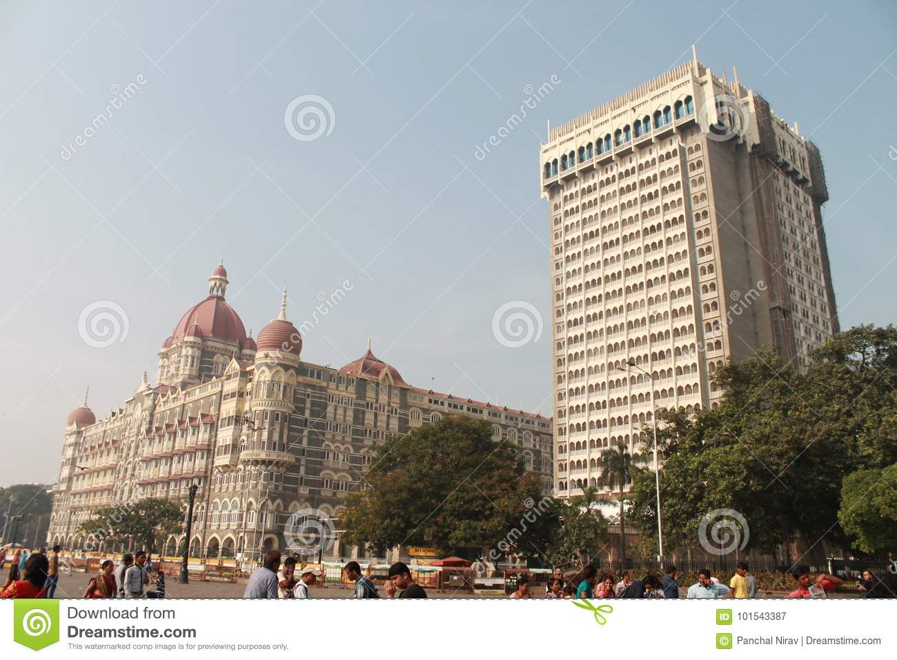 The Old & New Hotel The TAJ India Editorial Photography